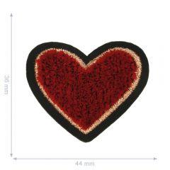 HKM Applicatie hart rood - 5st