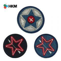 HKM Applicatie ster in cirkel - 3st