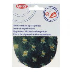 Opry Kniestukken opstrijkbaar jeans met gaten- 5st
