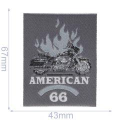HKM Applicatie label american 66 - 5st