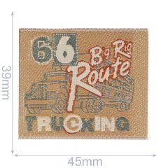 Applicatie Label 66 Big Rig Route Truck - 5st