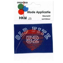 HKM Applicatie label old fite 52 - 5st