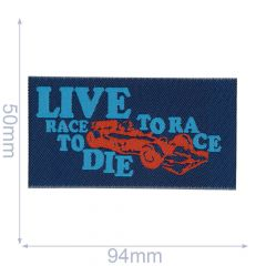 HKM Applicatie label live to race - 5st