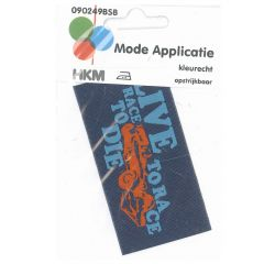 HKM Applicatie label live to race - 5st