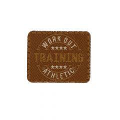 HKM Applicatie training bruin 4,5cm - 5st