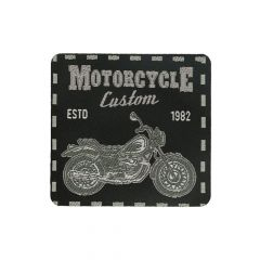 HKM Applicatie motorcycle custom zwart 5,9cm - 5st