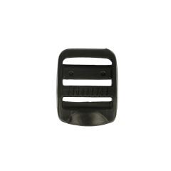 Schuifgesp 25mm zwart - 10st