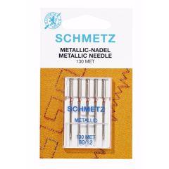 Schmetz Metallic 5 naalden 80-12 - 10st