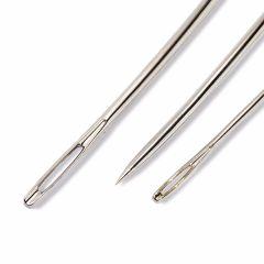 Prym Gebogen stoffeerdersnaalden assortiment zilver - 5x3st