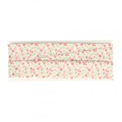 DMC Biaisband bloemen - 3x3m
