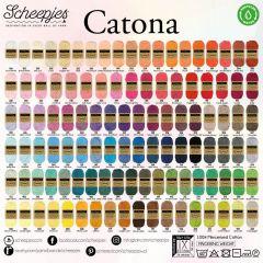Scheepjes Catona assortiment 5x50g - 109 kleuren - 1st
