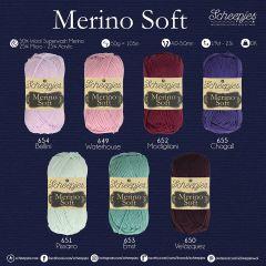 Scheepjes Merino Soft assortiment 5x50g - 7 kleuren - 1st