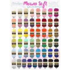 Scheepjes Merino Soft assortiment 5x50g - 49 kleuren - 1st