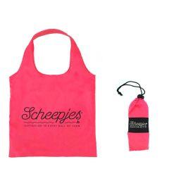 Scheepjes Fold away shopper 44x37cm roze - 20st