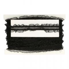 Band elastisch 2-zijdig 40mm - 20m
