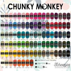 Scheepjes Chunky Monkey assorti. 5x100g - 93 kleuren - 1st