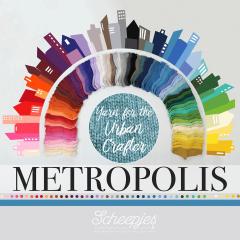 Scheepjes Metropolis assortiment 2x50g - 80 kleuren - 1st