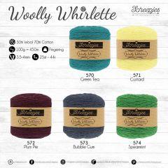Scheepjes Woolly Whirlette assortiment 5x100g - 5 kl. - 1st