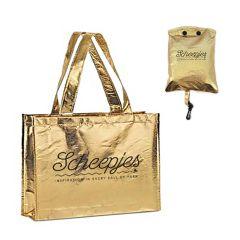 Scheepjes Vouwbare tas goud 46x37cm - 12st