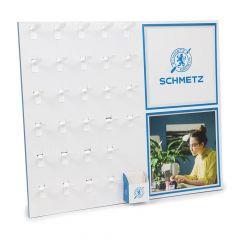Schmetz Display voor blisterkaarten 72x53cm - 1st