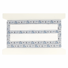 Band delfs blauw 15mm - 25m