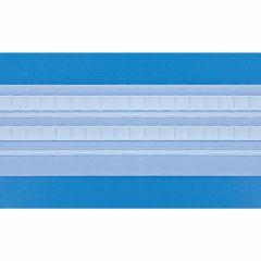 Gordijnband pijpplooi 70mm - 50m