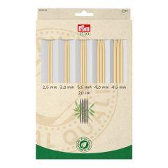 Prym 1530 sokkennaalden set bamboe 2.50-4.50mm - 1st