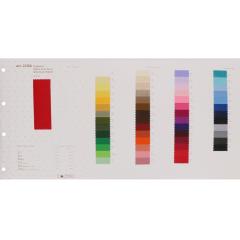 Kleurkaart ripsband - 1st