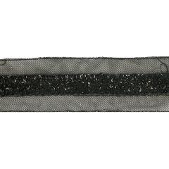 Tuleband pailletten handgemaakt 45mm - 6m