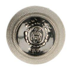 """Knoop embleem met metalen rand 24"""" tot 40"""" - 50st"""