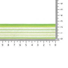 Kuny Organza lint salina 25mm - 25m