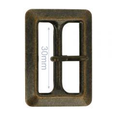 Gesp metaal 30mm - 6st