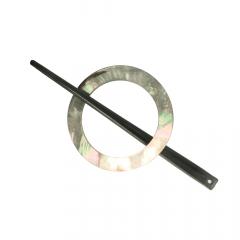 Vestsluiting parelmoer 50-65mm - 10st