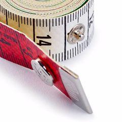 Prym Centimeter Color Plus cm-cm met drukknoop 150cm - 5st L