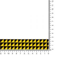 Kuny Ripslint driehoek 25mm - 15m
