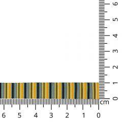 Kuny Ripslint gestreept 10mm - 15m