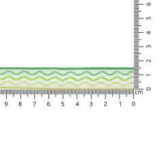 Kuny Satijnlint wave 15mm - 20m