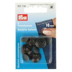Prym Vrijgezellenknopen 16mm - 5x4st