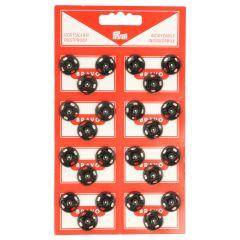 Prym Drukknopen 15mm zwart - 6st