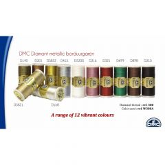 DMC Diamant 6x12 kleuren + gratis display - 1st