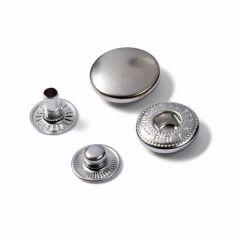 Prym Naaivrijdrukknoop navulling 15mm zilver - 5x10st