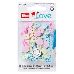 Prym Love drukknopen hart 12.4mm - 3x30st