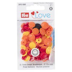 Prym Love drukknopen bloem 13.6mm - 3x21st