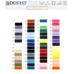 Kleurkaart Lockgaren - 1 st