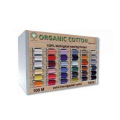 Scanfil Organic Cotton kastje 36 kleuren à 5st - 1st