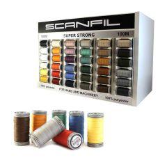Scanfil Display polyester 5x36 kleuren - 1st