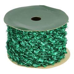 Band van elastiek groen 2mm - 20m.