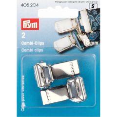 Prym Combi clips zilver - 5x2st