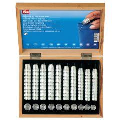 Prym Vingerhoed zinkdruk assortiment 14-18mm zilver - 100st