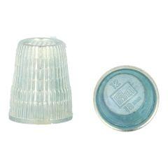 Prym Vingerhoed zinkdruk zilver - 10st